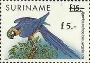[Birds Issue of 1991 Surcharged, Typ BEN1]