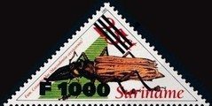 [Insects Issue of 1993 Surcharged, type BHN1]