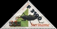 [Insects Stamps of 1993 Surcharged, type BHP1]