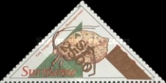 [Insects Stamps of 1993 Surcharged, Typ BHT1]