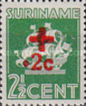[Red Cross - Surcharged New Values, type BI2]