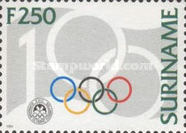 [The 100th Anniversary of the Olympic Committee - IOC, Typ BIW]