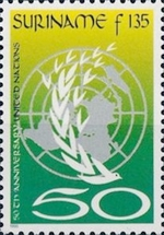 [The 50th Anniversary of the United Nations, Typ BKO]
