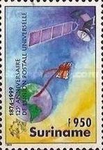 [The 125th Anniversary of the UPU - Universal Postal Union, Typ BRS]