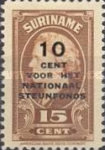 [National Welfare Fund - Surcharged & Overprinted
