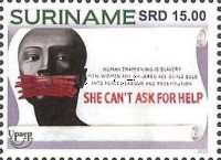 [UPAEP Issue - Stop Human Trafficking, Typ DHF]