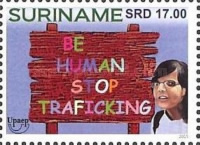 [UPAEP Issue - Stop Human Trafficking, Typ DHG]