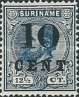 [Stamps of 1883 & 1889 Surcharged, Typ G]