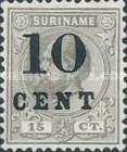 [Stamps of 1883 & 1889 Surcharged, type G1]