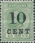 [Stamps of 1883 & 1889 Surcharged, type G2]