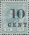 [Stamps of 1883 & 1889 Surcharged, type G3]