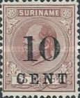 [Stamps of 1883 & 1889 Surcharged, type G5]