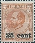 [Stamps of 1875 & 1889 Surcharged, Typ I1]