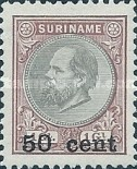 [Stamps of 1875 & 1889 Surcharged, type I2]