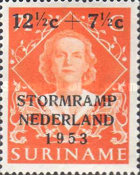 [Netherlands Flood Relief Fund - Issues of 1948 Overprinted