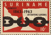 [The 100th Anniversary of Abolition of Slavery in Dutch West Indies, Typ UK]