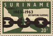 [The 100th Anniversary of Abolition of Slavery in Dutch West Indies, Typ UK1]