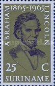 [The 100th Anniversary of the Death of Abraham Lincoln, 1809-1865, Typ VF]