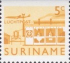 [Airmail - Local Motives Issue of 1965 in a Smaller Format, Typ VI1]