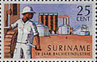 [The 50th Anniversary of Surinam Bauxite Industry, Typ XD]