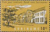 [The 10th Anniversary of Surinam Central Bank, Typ ZJ]