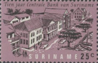 [The 10th Anniversary of Surinam Central Bank, Typ ZK]