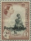 [Queen Elizabeth II & Local Motifs - Postage Stamps of 1956 Overprinted