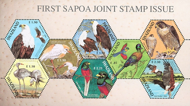 [Birds - SAPOA Joint Issue, type ]