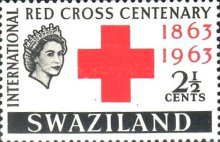 [The 100th Anniversary of International Red Cross, type AX]