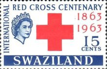 [The 100th Anniversary of International Red Cross, type AX1]