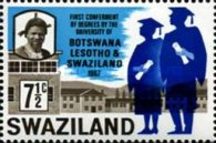 [First Ceremony of an Academic Degree by the University in Botswana, Lesotho, and Swaziland, type BH1]