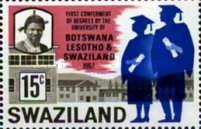 [First Ceremony of an Academic Degree by the University in Botswana, Lesotho, and Swaziland, type BH2]