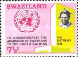 [Admission of Swaziland to the United Nations, type CE]