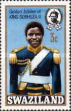 [The 50th Anniversary of Accession of King Sobhuza II, type CN]