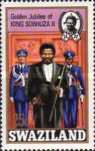 [The 50th Anniversary of Accession of King Sobhuza II, type CQ]