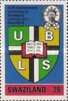 [University of Botswana, Lesotho and Swaziland, type DK]