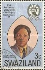 [The 75th Anniversary of the Birth of King Sobhuza II, 1899-1982, type DL]