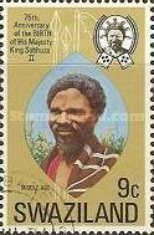 [The 75th Anniversary of the Birth of King Sobhuza II, 1899-1982, type DM]