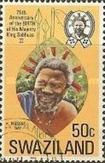 [The 75th Anniversary of the Birth of King Sobhuza II, 1899-1982, type DN]
