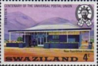 [The 100th Anniversary of Universal Postal Union, type DO]