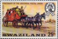 [The 100th Anniversary of Universal Postal Union, type DR]