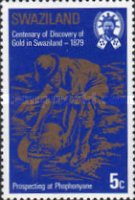 [The 100th Anniversary of Discouery of Gold in Swaziland, type HC]