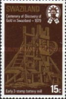 [The 100th Anniversary of Discouery of Gold in Swaziland, type HD]
