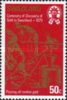 [The 100th Anniversary of Discouery of Gold in Swaziland, type HF]