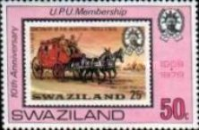 [The 10th Anniversary of Membership to U.P.U. - The 25th Anniversary of Post and Telegraph Services, type HW]