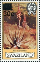 [Flowers - Previous Issue Surcharged, type IC1]