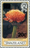 [Flowers - Previous Issues Surcharged, type ID1]
