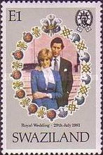 [Royal Wedding of Prince Charles and Lady Diana Spencer, type JN]
