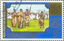 [The 60th Anniversary Regency of King Sobhuza ll, type JO]