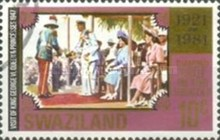 [The 60th Anniversary Regency of King Sobhuza ll, type JP]